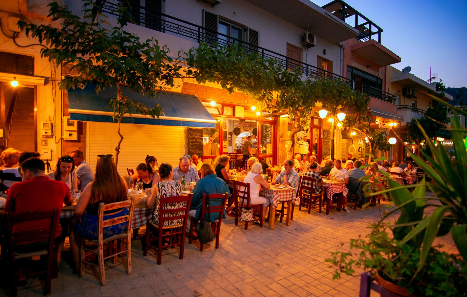 Inochoos Restaurant Paleochora
